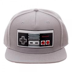 Nintendo Controller Chrome Weld Snapback: Vendor: Nintendo Type: Price: 28.20 The classics never go out of style. This NES hat is a perfect…
