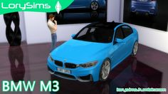 BMW M3 at LorySims via Sims 4 Updates