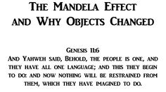 The Mandela Effect and Why Objects Changed - YouTube