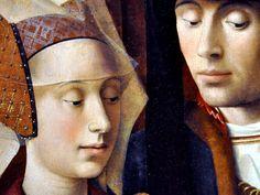 Petrus Christus - Un orfèvre dans son atelier (detail)