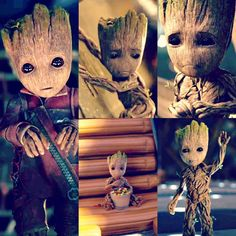 I didn't even need a plot, I could have just watched them all play parent to groot for 2 hours!l