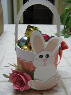Bunny on a Roll by pvilbaum - Cards and Paper Crafts at Splitcoaststampers