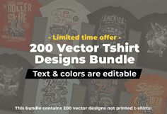 T shirt design and font bundles with extended license buy t shirt designs