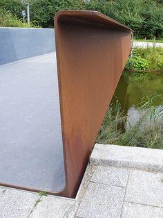 Corten bridge photo by silencetape