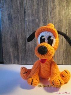 Добрый всем день. Недавно в СМ показывала своего вязаного Плуто Плуто - это персонаж старого Диснеевского мультика про Микки -мауса, веселый и смешной.