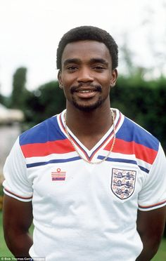 Hero: The match will commemorate Laurie Cunningham, the first black player to wear an England shirt at Under 21 level Pure Football, Football Icon, World Football, Football Shirts, Retro Football, Vintage Football, England Football Players, England Players, Real Madrid
