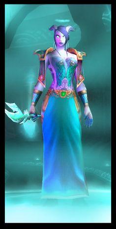 Turquoise is in! Priestess of Yu'lon | Samaramon's World