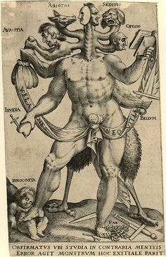Allegory of the Five Obstinate Monsters (c. 1575 - 1618) - Anon. | Flickr - Photo Sharing!