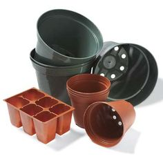 Before you throw them away, check out these 10 reuses for plastic plant pots.