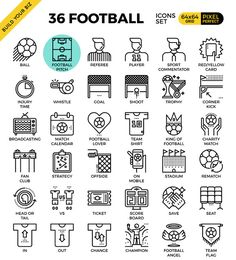36 Football(Soccer) Outline&Color @creativework247