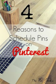 why you should schedule pins on Pinterest Email Subject Lines, Work From Home Opportunities, Blog Names, Computer Technology, Blog Writing, Facebook Marketing, New Job, Pinterest Marketing, Social Media Tips