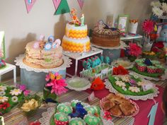 Kiki's In the Night Garden 1st Birthday | CatchMyParty.com