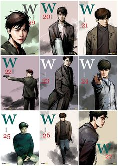 W Korean Drama, Korean Drama Movies, Korean Actors, Lee Jong Suk Cute, Lee Jung Suk, W Two Worlds Art, W Two Worlds Wallpaper, W Kdrama, Baek Seung Jo