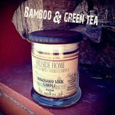 Fresh cut bamboo mixed with warm steeping green tea. This light and airy scent is a very clean and freshening scent.