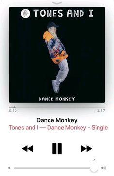 Tones and I - Dance Monkey Rap Song Lyrics, Rap Songs, Happy Music Video, Music Video Song, Music Sing, Mood Songs, Music Mood, Wallpaper Musica, Love Songs Playlist