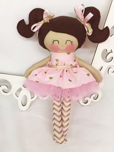 Cloth baby doll, Fabric Dolls, Handmade Doll, Gifts for Girls