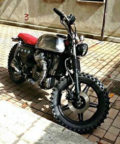Honda Scrambler #motorcycles #scrambler #motos | caferacerpasion.com