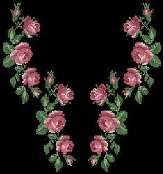 Gallery.ru / Фото #138 - схемы для вышиванок - zhivushaya Wool Embroidery, Ribbon Embroidery, Cross Stitch Embroidery, Embroidery Designs, Cross Stitch Pillow, Cross Stitch Tree, Cross Stitch Flowers, Cross Stitch Designs, Cross Stitch Patterns