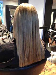 Blunt Long Hairdo
