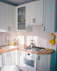 Trendy Home Renovation Addition House Kitchen On A Budget, Home Decor Kitchen, Diy Kitchen, Kitchen Interior, Kitchen Cabinets, Custom Kitchens, Home Kitchens, Micro Kitchen, Rustic Living Room Furniture