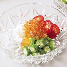 夏野菜の和風ジュレ by野口真紀さんの料理レシピ - レタスクラブ