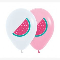 Watermelon Printed Balloons - Pack of 5 available online at Little Boo-Teek! Generous, cool, inspiring and always the perfect companion when throwing a party! An essential tool kit full of ideas for making any party unforgettable! Free Shipping on all orders over 0