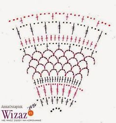Devoted passion to create .: Easter szydełkowce - basket with cysts Crochet Diagram, Free Crochet, Knit Crochet, Easter Projects, Easter Crafts, Doily Patterns, Crochet Patterns, Decor Crafts, Diy And Crafts