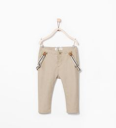 Image 1 of OXFORD TROUSERS AND SUSPENDERS from Zara