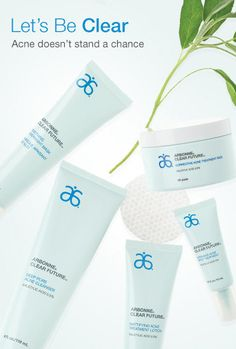 Let's Be Clear. Acne doesn't stand a chance. I wish I would have known about Arbonne when I was dealing with my acne