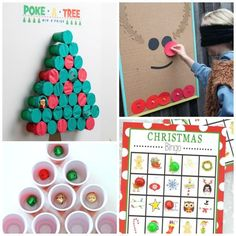 fun & creative holiday party games for kids. Great ideas for classroom parties and family gatherings! Christmas Party Games For Kids, School Christmas Party, Holiday Party Games, Halloween Party Games, Winter Crafts For Kids, Christmas Party Decorations, Xmas Party, Kids Christmas, Christmas Activities