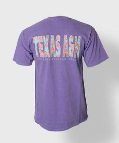 Texas A&M T-shirt. #AggieSpirit #AggieStyle #AggieGifts