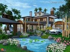 Srovy compact house by Autaki- Sims 3 Downloads CC Caboodle