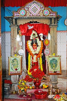 Idol of Maa Doyamoyee | by Indya Unrevealed ( A Lonely Traveller)