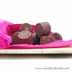 Simple and delicious chocolates. Free from gluten, grains, dairy, egg, nuts and refined sugar. Enjoy.