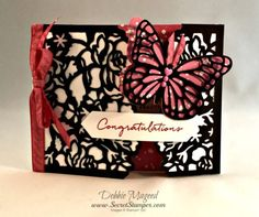 Floral Phrases, Detailed Floral Framelits, Butterflies, Wedding, Gate Fold, Stampin Up