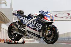 El logo de Remica, en la nueva moto de Avintia Racing #motogp #Locosporlasmotos #pasiónporlasmotos #Qatar