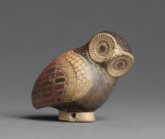 Corinthian Aryballos in the Shape of an Owl  Department of Greek, Etruscan, and Roman Antiquities: Archaic Greek Art (7th-6th centuries BC)