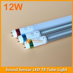 2FT 0.6m 600mm 9~12W Sonic Sensor T8 LED Tube Light