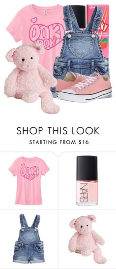 """Teddy Bear, You Are My Teddy Bear"" by moonlight-princess-of-the-stars ❤ liked on Polyvore featuring NARS Cosmetics and Converse"