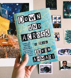"Hannah (A Clockwork Reader) on Instagram: ""Happy book birthday to Down and Across by @arvinahmadi!! This is the first book I've ever read about an Iranian-American teen and I can't…"""
