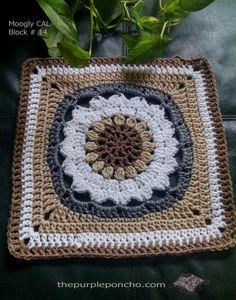 Moogly 2014 Afghan Crochet-A-Long by The Purple Poncho   The Purple Poncho