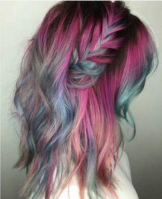 Tendance Couleur de cheveux  Mermaid Hair