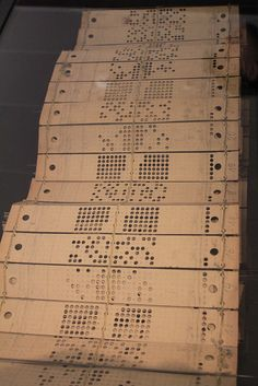 From the invention of computer programming languages up to the mid-1980s, many if not most computer programmers created, edited and stored their programs line by line on punched cards.