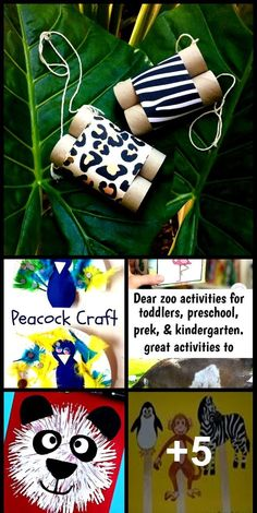 Zoo Activities Preschool, Rainforest Activities, Preschool Jungle, Zoo Animal Crafts, Animal Activities For Kids, Preschool Activities, Therapy Activities, Lesson Plans For Toddlers, Clip Charts