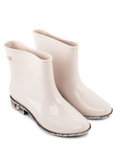 MEL Goji Berry Slip On Boots Goji Berry撞色輕便靴