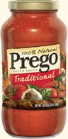 Prego is a sauce NOT a shortened form of the word of pregnant.