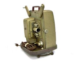 Keystone Movie Projector - My mom took home movies of us leaving for the first day of school every year. Watching My Mom, Cinema Projector, Antique Fairs, Movie Camera, Home Movies, 1960s Fashion, Back In The Day, Childhood Memories, Joseph Cornell