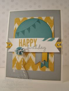 Celebrate Today Stamp Set, Jenny Peterson, Stampin' Up! Demonstrator, Stampin' Up!, card making, paper crafting, new Occasions Catalog