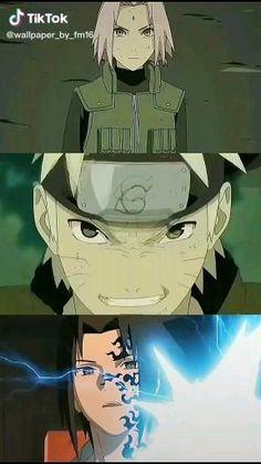 Naruto Gif, Naruto Team 7, Naruto And Sasuke Wallpaper, Naruto Shippuden Characters, Naruto Sasuke Sakura, Naruto Comic, Wallpaper Naruto Shippuden, Naruto Uzumaki Shippuden, Hinata