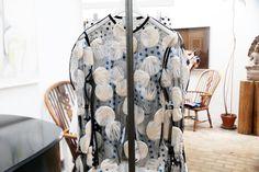 Sheer mesh top + embellishment + spots + polka dots - J.W. Anderson - alternative resort s/s15 collection.